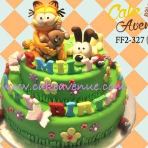 Fabulous Garfield Cake Avenue Personalised Birthday Cards Veneteletsinfo